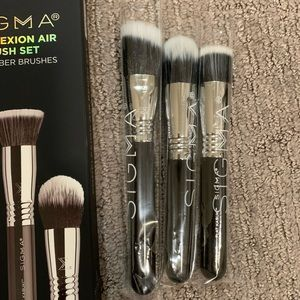 BNIB Sigma complexion air brush set 3 duo